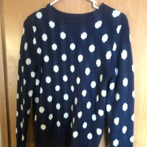 Adorable poke a dot sweater